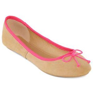 Hot Pink Ballet Flats