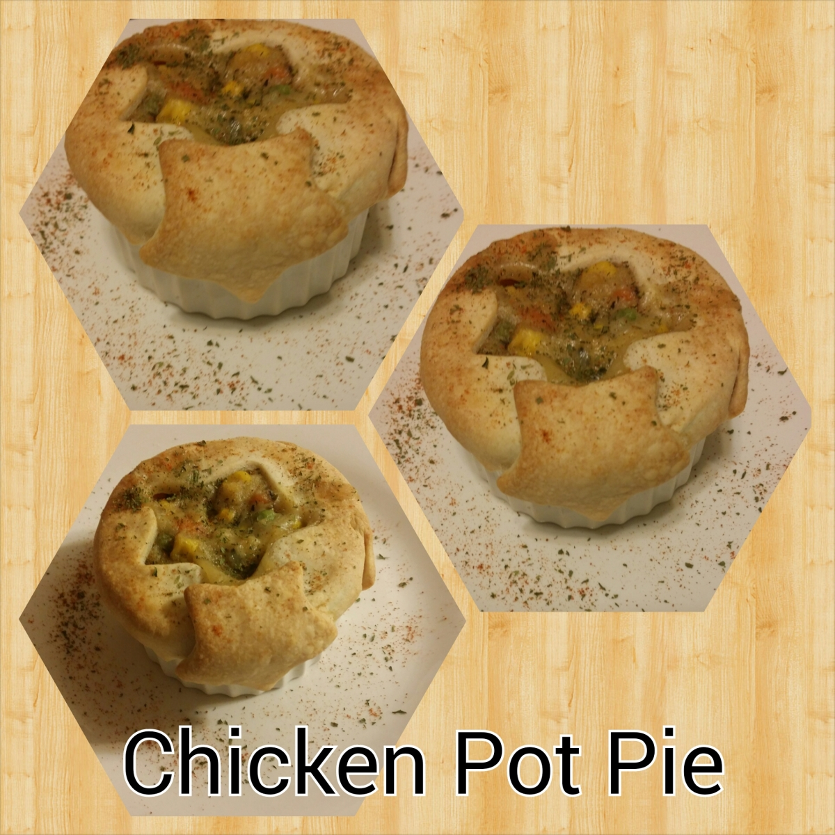 Easy Individual Chicken Pot Pie | Sewloveable
