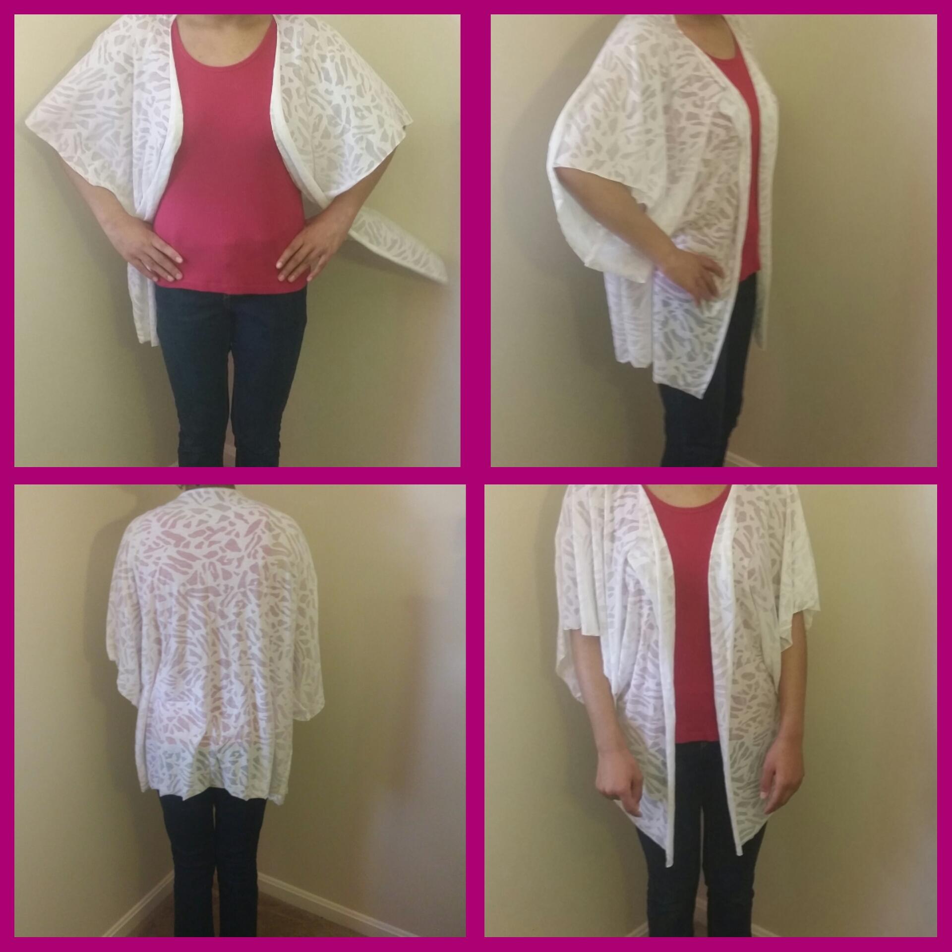 DIY 20 Minute Kimono Cardigan | Sewloveable